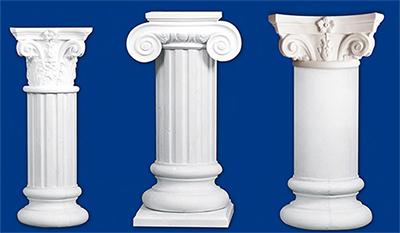 Stucchi decorativi lagioia for Colonne quadrate decorative